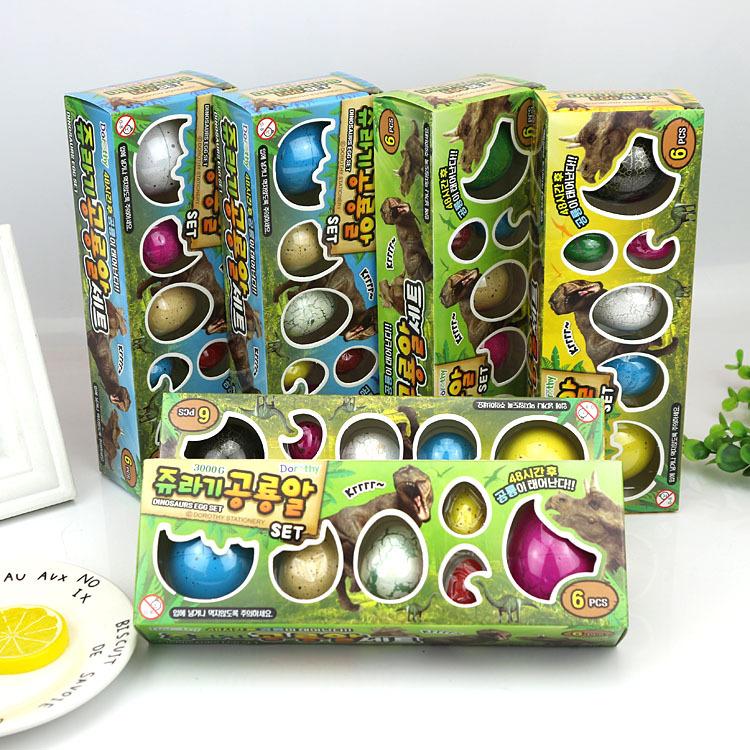 Đồ chơi 6 trứng khủng lòng cho bé