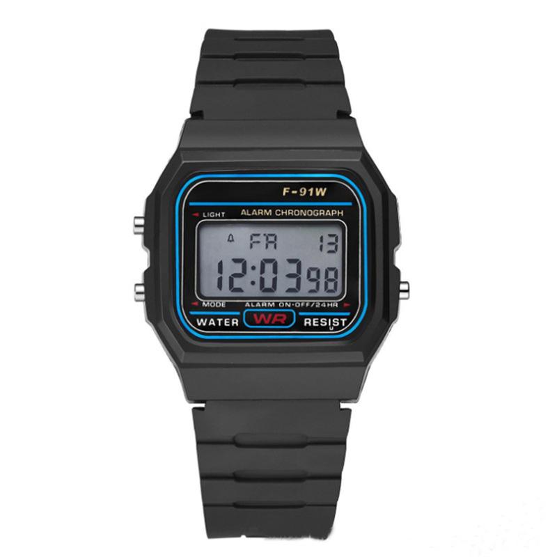 Đồng hồ đeo tay F-91W (màu đen)