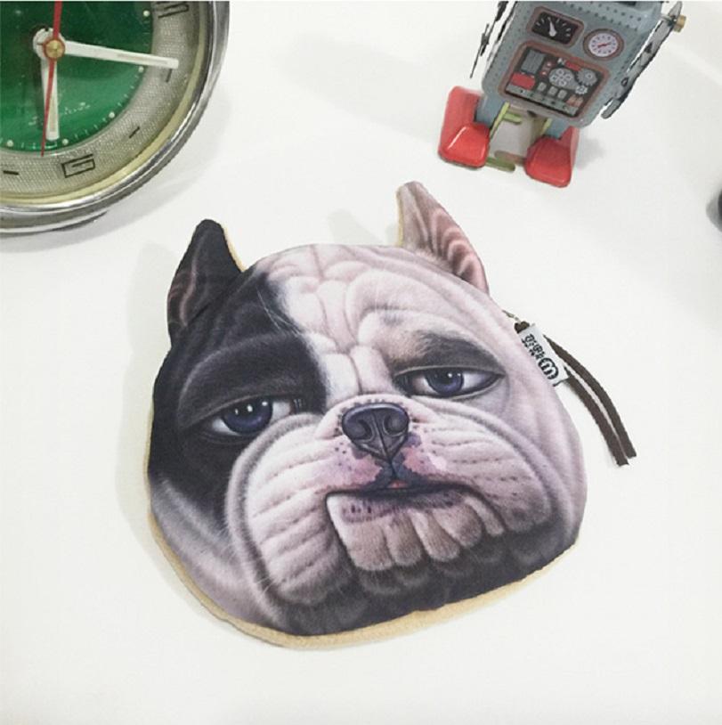 Ví đựng tiền xu hình chú chó 3d dễ thương