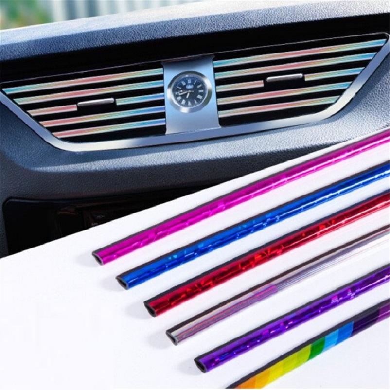 Thanh nhựa trang trí thanh cửa gió trong xe hơi