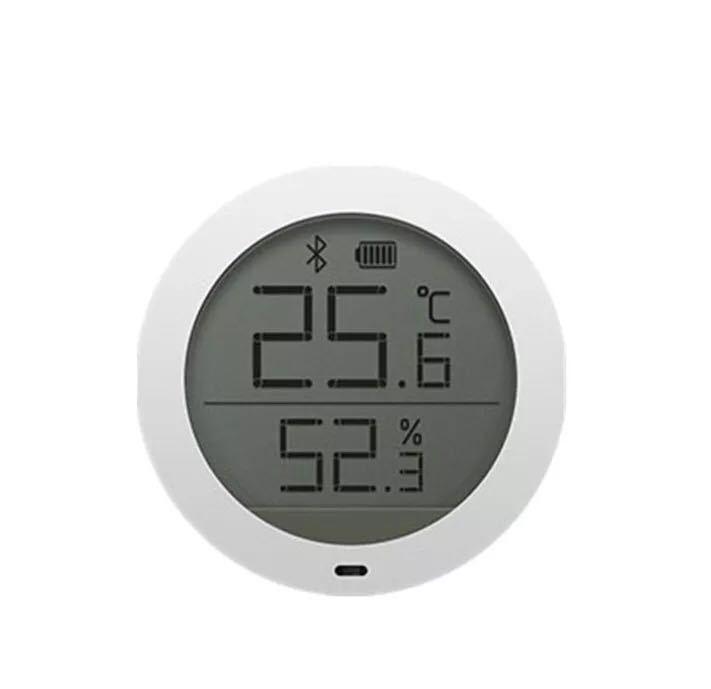 Nhiệt kế trong nhà có Bluetooth hình tròn