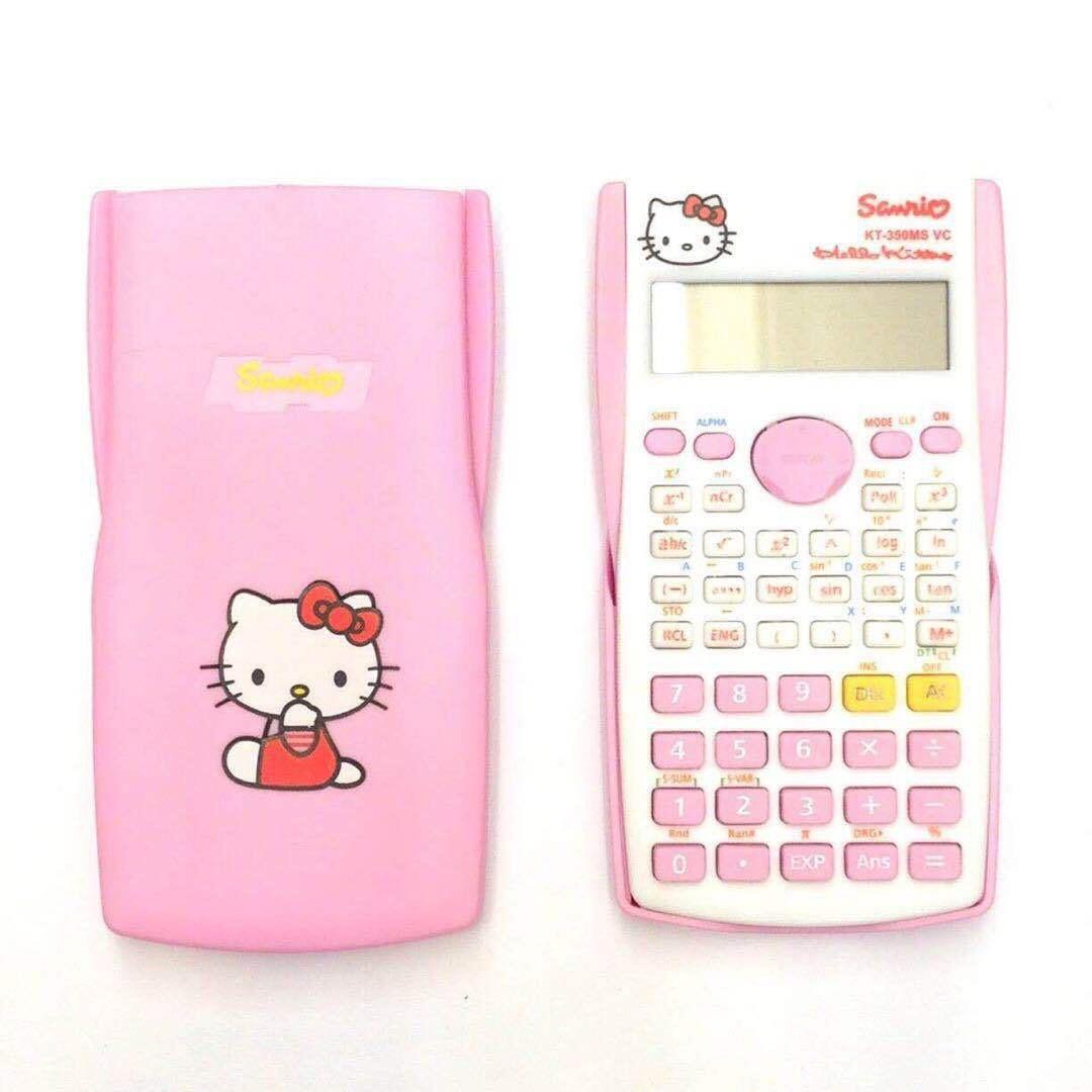 Máy tính học sinh hình hello kitty và Doraemon