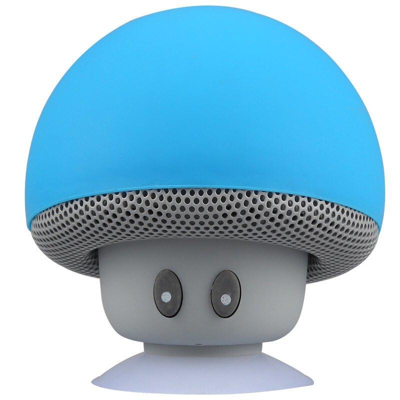 Loa bluetooth hình nấm kiêm giá đỡ điện thoại
