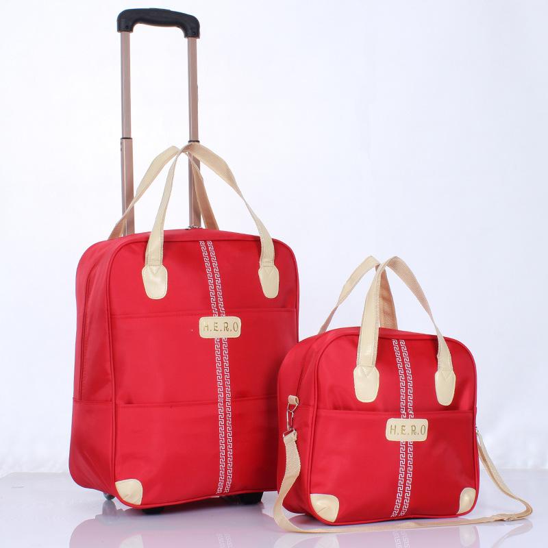 Bộ vali túi xách du lịch Hero