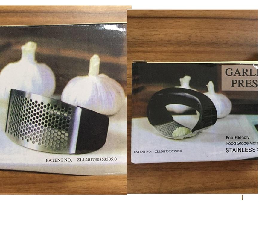 Dụng cụ nghiền tỏi bằng thép Garlic Press