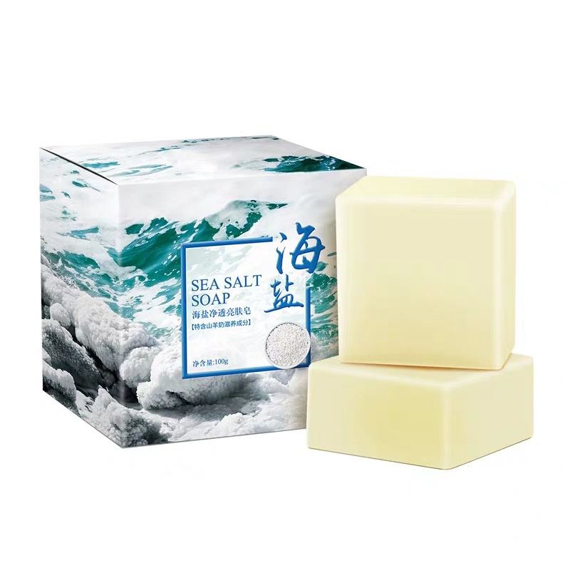 Xà phòng rữa mặt muối biển SEA SALT SOAP