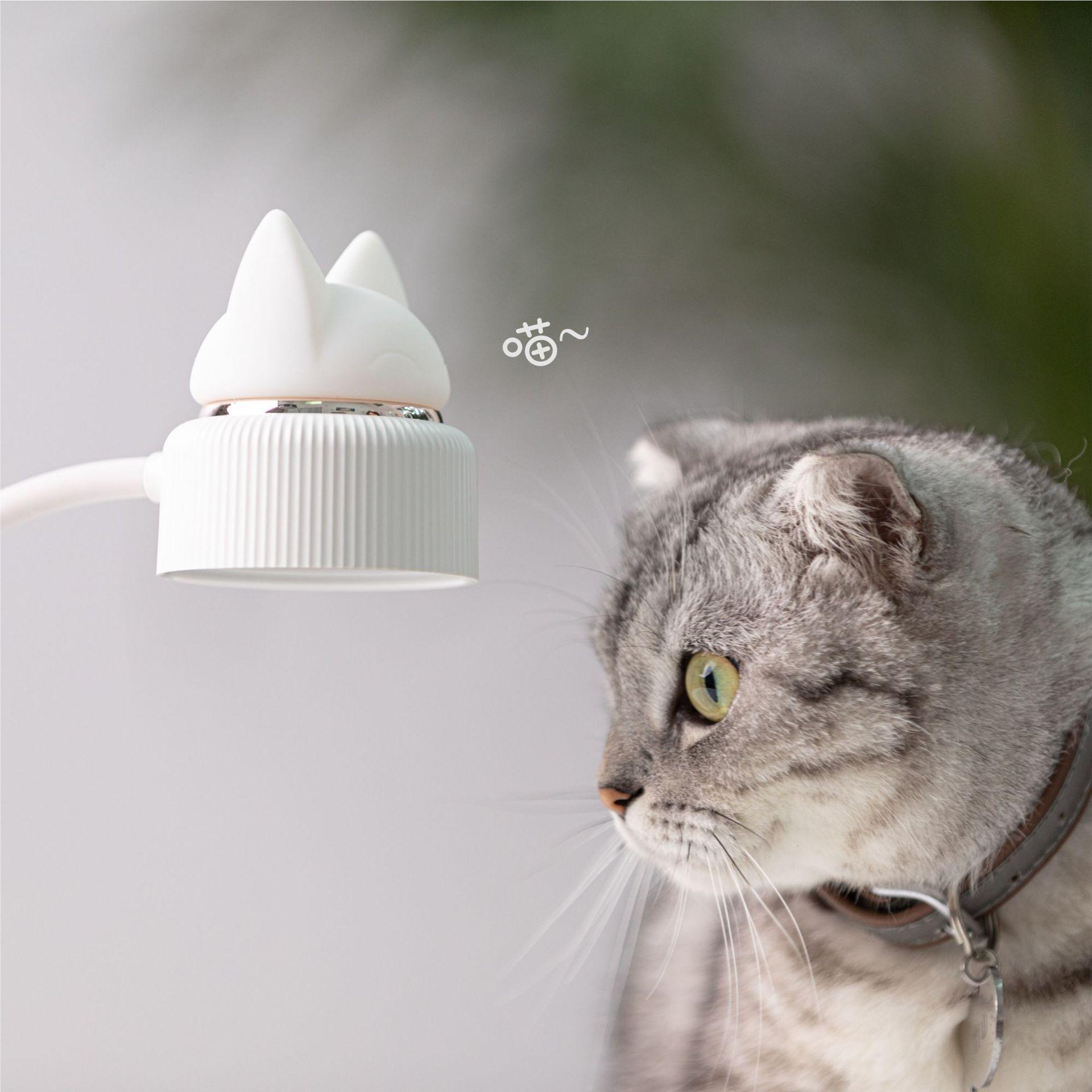 Đèn để bàn 332 hình mèo dễ thương