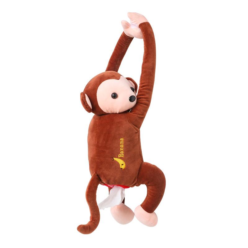 Hộp đựng khăn giấy hình chú khỉ