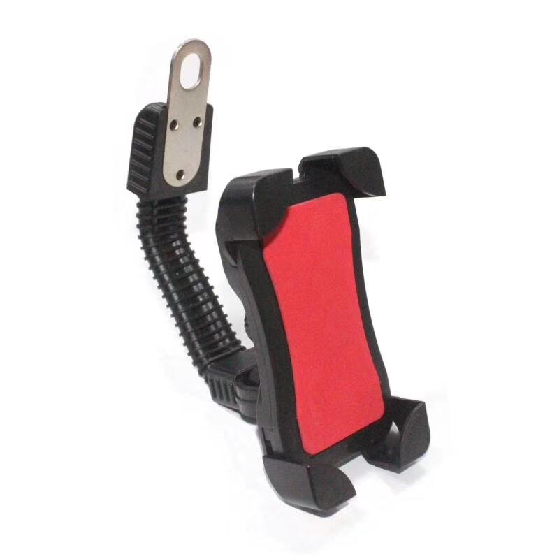 Khung kẹp điện thoại 4 cạnh góc cho xe máy