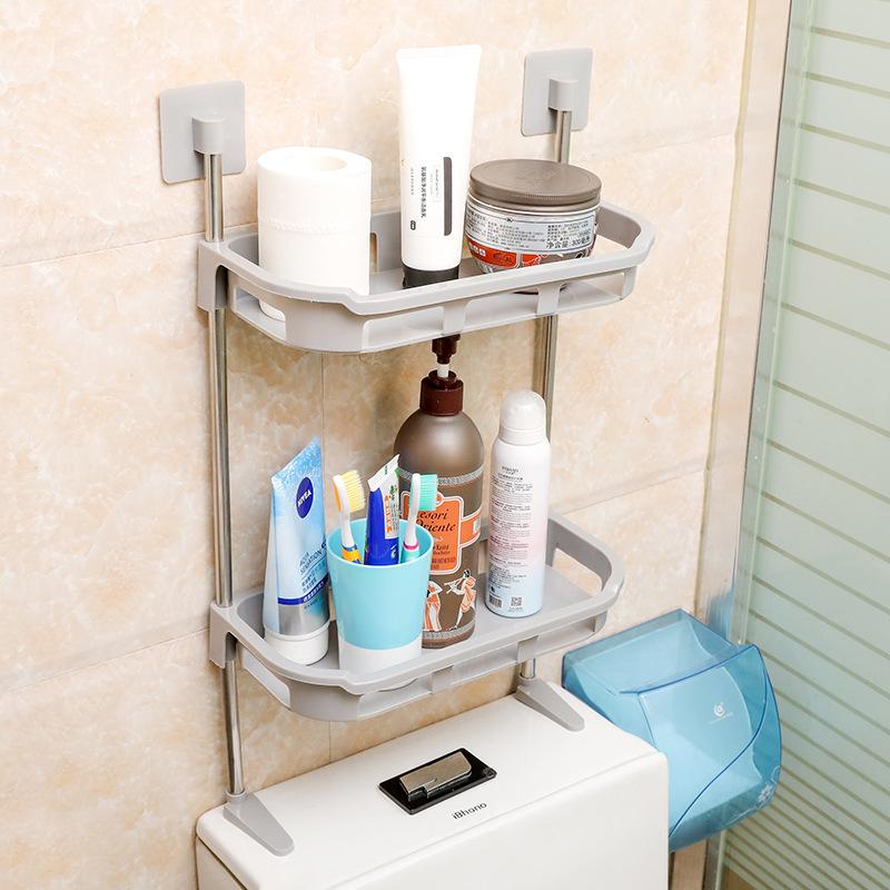 Giá đỡ nhà vệ sinh 2 tầng tiện dụng